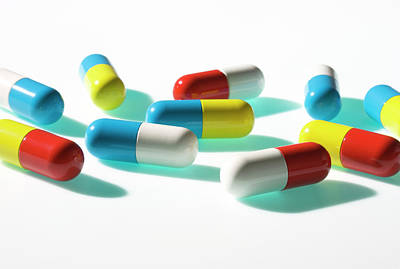 Photograph - Pills by Paul Taylor