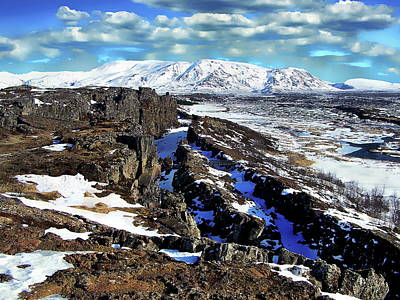 Photograph - Pingvellir National Park by Anthony Dezenzio