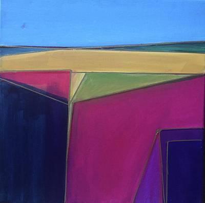 Painting - Pink Edge by Cherylene Henderson