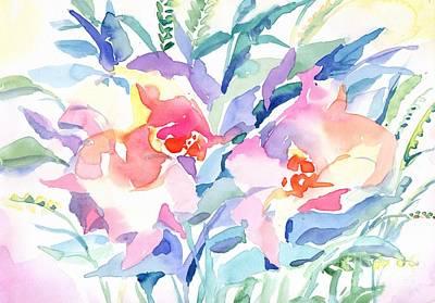 Painting - Pink Flowers by Irina Dobrotsvet