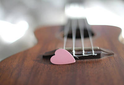 Photograph - Pink Heart by © 2011 Staci Kennelly