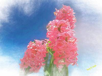 Digital Art - Pink Hyacinth by Rusty R Smith