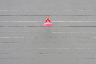 Photograph - Pink Lamp by Stuart Allen