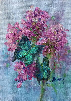 Painting - Pink Lavender by Marie Green
