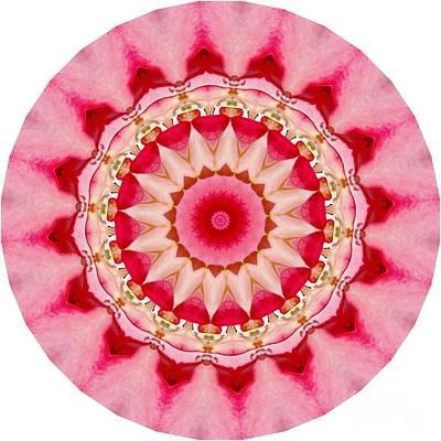 Digital Art - Pink Mandala by Susan Rydberg