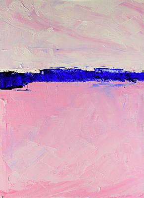 Painting - Pink Morning by Nancy Merkle