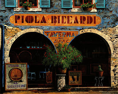 Line Drawing Quibe - Piola Biccardi by Guido Borelli