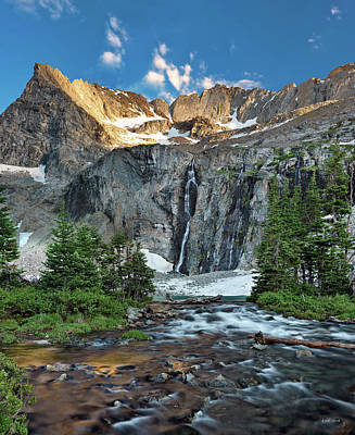 Photograph - Pioneer Mountains Above Kane Lake by Leland D Howard