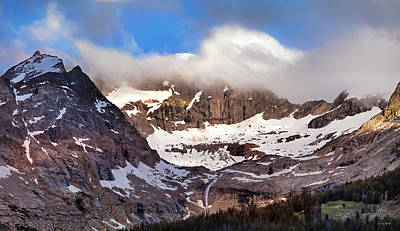 Photograph - Pioneer Mountains Sunrise by Leland D Howard