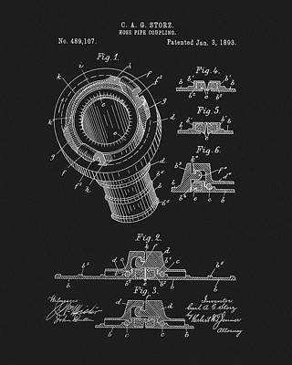 Drawing - Pipe Coupling Patent by Dan Sproul