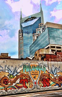Photograph - Piranaha's Bar And Grill # 3 - Nashville by Allen Beatty