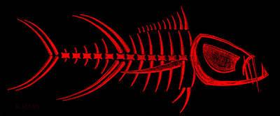 Photograph - Piranha Bonefish Red by Rob Hans