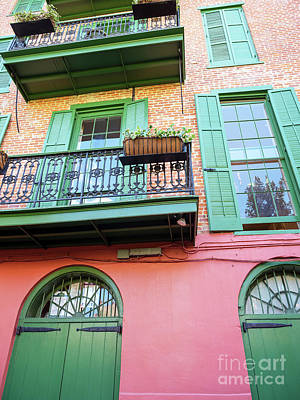 Photograph - Pirate Alley Style New Orleans by John Rizzuto