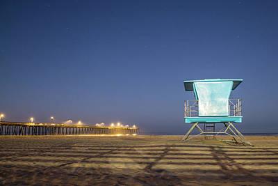 Photograph - Pismo Beach Lifeguard Stand  by John McGraw
