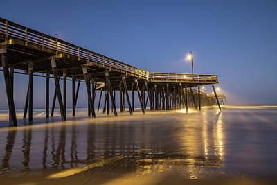 Photograph - Pismo Beach Pier Sunrise Blue Hour  by John McGraw