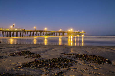 Photograph - Pismo Pier Blus Hour  by John McGraw