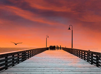 Photograph - Pismo Pier  by John Rodrigues