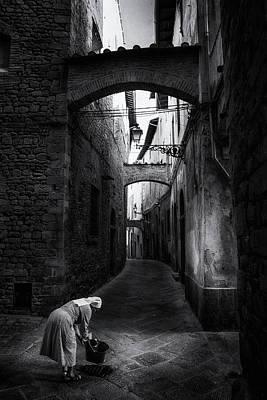 Photograph - Pistoia Tuscany - Fine Art Street Photography by Frank Andree