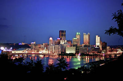 Photograph - Pittsburgh At Night by Dan Urban