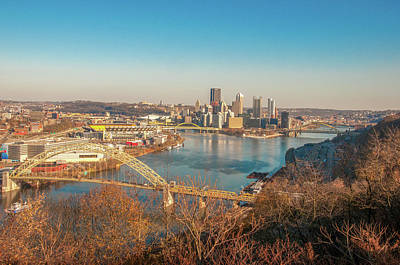 Photograph - Pittsburgh In Fall by Dan Urban