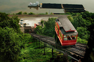 Photograph - Pittsburgh Incline by Dan Urban