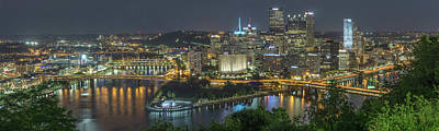 Photograph - Pittsburgh Lights by David R Robinson