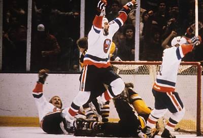 Photograph - Pittsburgh Penguins V New York Islanders by B Bennett