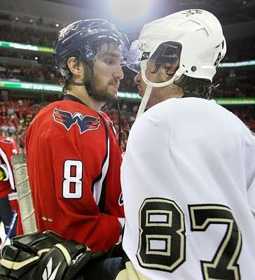 Photograph - Pittsburgh Penguins V Washington by Bruce Bennett