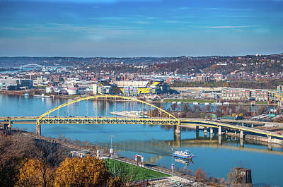 Photograph - Pittsburgh Point by Dan Urban