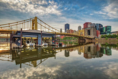 Photograph - Pittsburgh River Rescue  by Emmanuel Panagiotakis