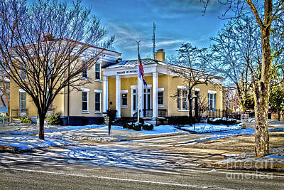 Photograph - Pittsford Village Hall by William Norton