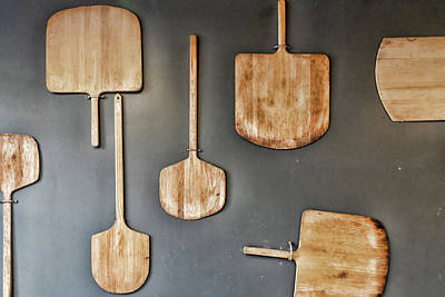 Photograph - Pizza Paddles by Sharon Popek