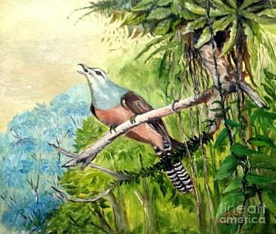 Painting - Plaintive Cuckoo by Jason Sentuf