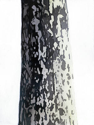 Painting - Plane Tree 2 by Graham Dean