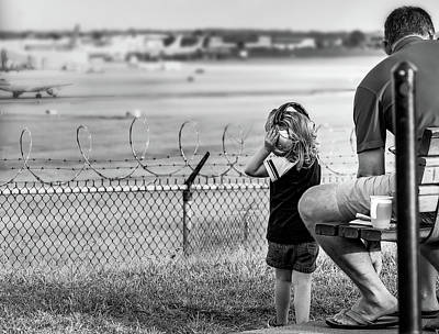Photograph - Plane Watching by Ant Pruitt