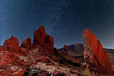 Photograph - Planet In Teide National Park by This Is A Dream, Live It.