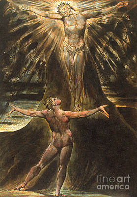 Painting - Plate 76 From Jerusalem by William Blake