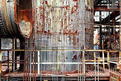 Photograph - Platform At Bethlehem Steel by John Rizzuto