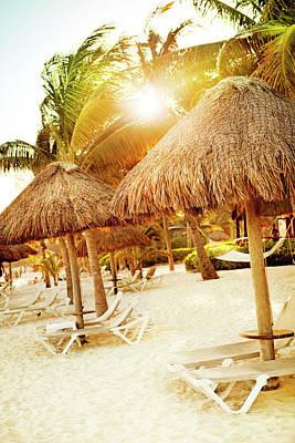 Photograph - Playa Del Carmen by Orbon Alija