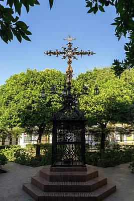 Photograph - Plaza De Santa Cruz - Church Of The Holy Cross Square by Georgia Mizuleva