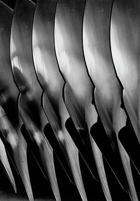 Photograph - Plowshare Blades Made By Oliver Forgers by Margaret Bourke-white