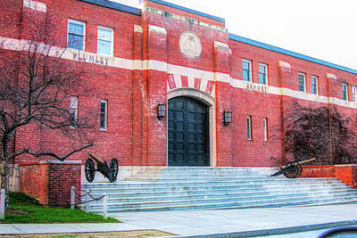 Urban Abstracts - Plumley Armory at Norwich University by Jeff Folger
