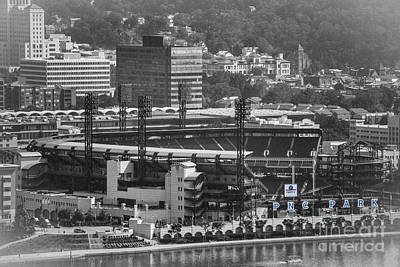 Sports Royalty-Free and Rights-Managed Images - Pnc Park by Judy Wolinsky