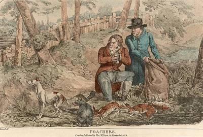 Poaching Art Print by Hulton Archive