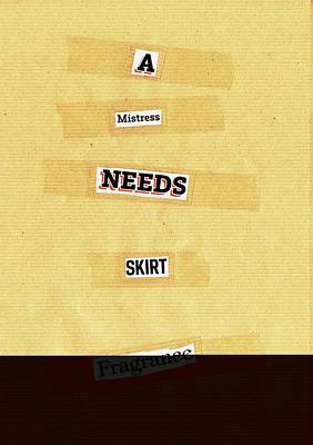 Mixed Media - Poem Poster 13 by Artist Dot