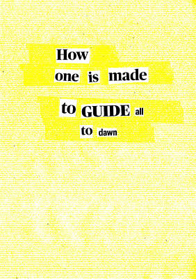 Mixed Media - Poem Poster 15a by Artist Dot