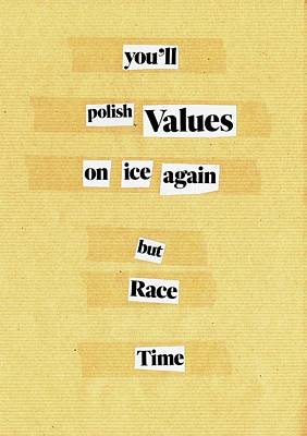 Mixed Media - Poem Poster 21 by Artist Dot
