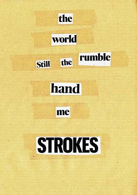 Mixed Media - Poem Poster 22 by Artist Dot