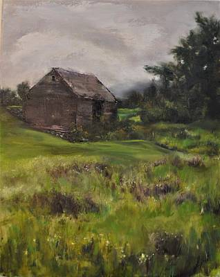 Painting - Poestenkill Barn by Lindsay Frost