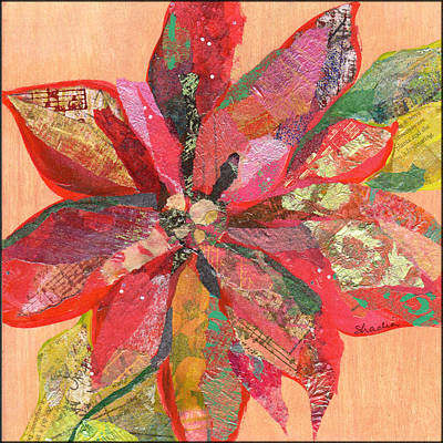 Coy Fish Michael Creese Paintings - Poinsettia by Shadia Derbyshire